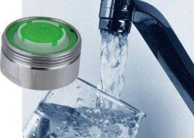 économiseurs d'eau aux robinets