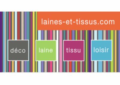 LAINES ET TISSUS . COM