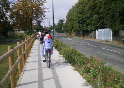 réseau de pistes cyclables