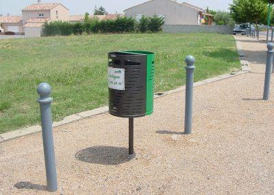 poubelles publiques de tri