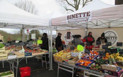 Binette s'installe place Jules Ferry ce dimanche 17 février