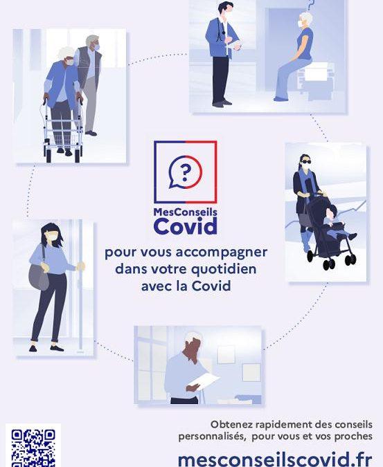 SITE WEB MES CONSEILS COVID